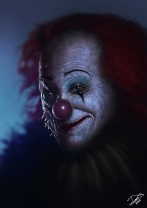 meet pennywise stephen king s scariest creation the sanguine woods my version of pennywise by disse86 d8d2pfi ldquo