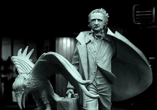 Poe-statue