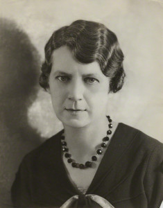 Richmal Crompton, by Bassano, vintage print, circa 1930 (National Portrait Gallery)