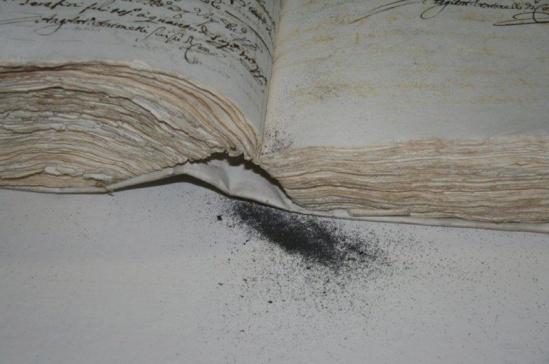 archive dust