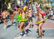 SITGES, CATALONIA, SPAIN - JUNE, 11, 2017: Gay Pride Sitges 2017