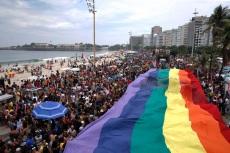 Rio de Janeiro - 22ª Parada do Orgulho LGBTI, na Praia de Copacabana. (Tânia Rêgo/Agência Brasil)